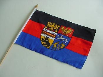 Stockflagge Ostfriesland ca. 37x27 cm