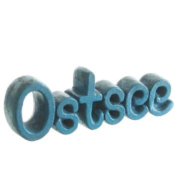 """Deko-Schriftzug """"Ostsee"""" Polystone"""