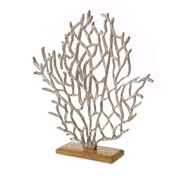 Alu line Metall Koralle auf Stand