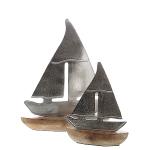 Alu line Metall Segelboot auf Stand