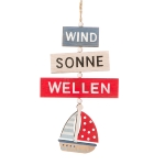 Anhänger Wind/Sonne/Wellen