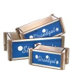 Holzbox Strandgut 3er Set