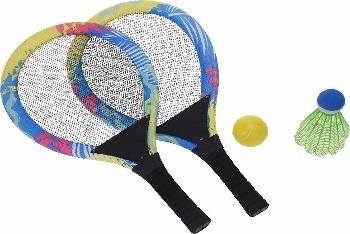 Tennis-Set ca.54x27cm Kunststoff