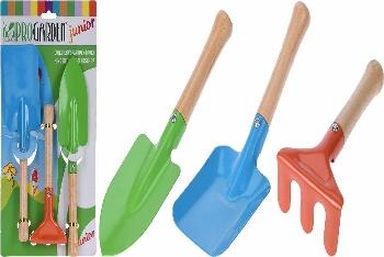 Gartenwerkzeuge 3er-Set für Kinder
