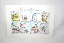 Ostfriesische Teezeremonie Platzset