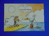 Emma-Postkarte Troja. Pferd