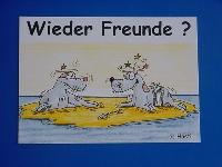 Emma-Postkarte Wieder Freunde?