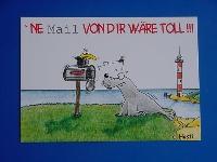 Emma-Postkarte ne Mail...