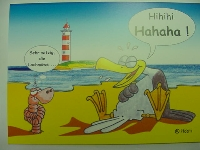 Emma-Postkarte HAHAHA!