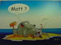 Emma-Postkarte Mat? Jes