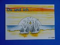 Emma-Postkarte Du und ich...