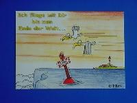 Emma-Postkarte Ende der Welt...