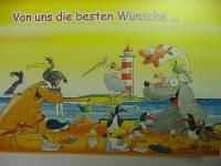 Emma-Postkarte Die besten Wünsche