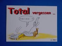 Emma-Postkarte Total vergessen...