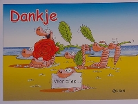 Emma-Postkarte Holland Dankje
