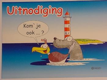 Emma-Postkarte Holland Uitnodiging