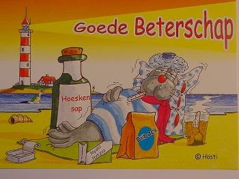 Emma-Postkarte Holland Goede Beterschap