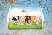 Hösti Tablett Melamin 21x14,5cm 5 Kühe