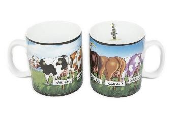 Hösti Jumbo Becher 5 Kühe ca.11x10cm Porzellan