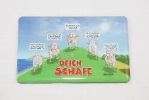 Hösti Foto Magnet ca.8x5cm Deichschafe