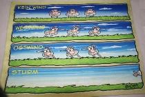 Hösti Fußmatte Wissensdurst ca,60x45,5cm