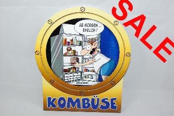 Hösti Schild Kombüse ca.24x20cm MDF