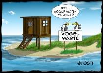 Postkarte Vogelwarte