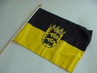 Stockflagge Baden Württemberg ca.37x27cm