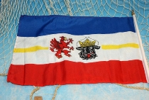 Stockflagge Mecklenburg-Vorpommern ca. 37x27 cm