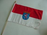 Stockflagge Hessen ca. 37x27 cm