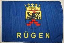 Stockflagge Rügen