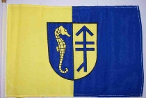 Stockflagge Hiddensee