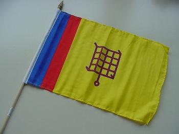 Stockflagge Glücksburg
