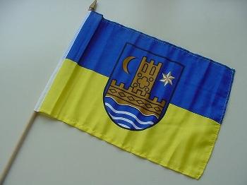 Stockflagge Schleswig