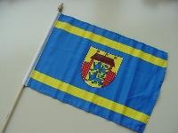 Stockflagge Husum