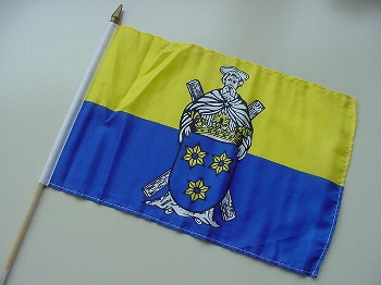 Stockflagge Norden