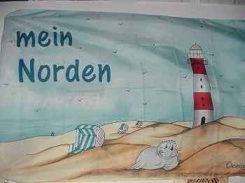 Flagge Mein Norden 150x90 cm