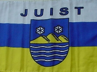 Flagge Juist 150x90 cm
