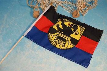 Stockflagge Dornumersiel Wappen