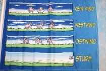 Flagge Wissensdurst 150x90cm
