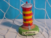 Leuchtturm Pilsum 6cm Polystone