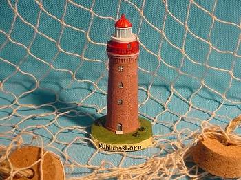 Leuchtturm Kühlungsborn/Bastorf 11cm Polystone