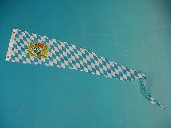 Wimpel Bayern Löwe 28x148 cm