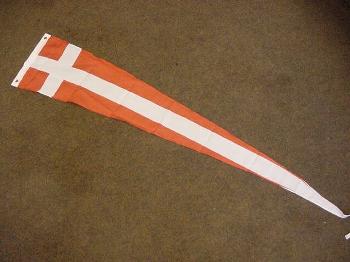 Wimpel Dänemark 28x148 cm