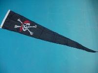 Wimpel Pirat 28x148 cm