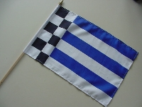 Stockflagge Norderney