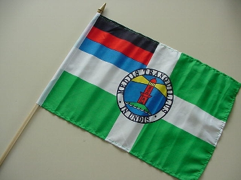 Stockflagge Borkum