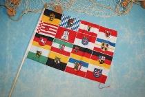 Stockflagge Bundesländer ca. 37x27 cm