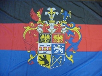 Flagge Ostfriesland Prachtwappen 150x90