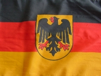 Flagge BRD mit Adler 150x90 cm